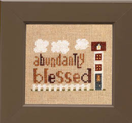 click here to view larger image of Daily Reminder - Abundantly Blessed (chart)