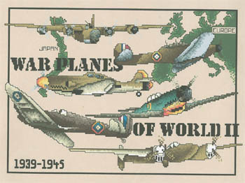 click here to view larger image of War Planes of WWII (chart)