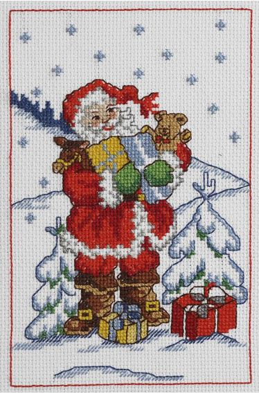 click here to view larger image of Gifts (counted cross stitch kit)