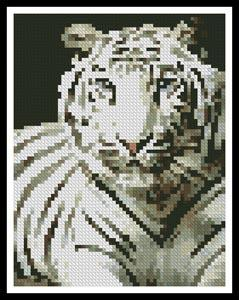 click here to view larger image of Mini White Tiger (chart)