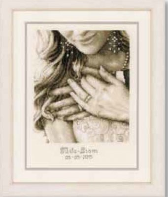 click here to view larger image of Yes I Do (counted cross stitch kit)