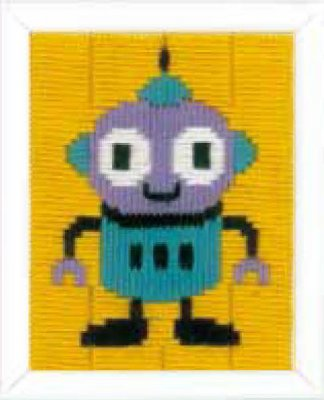 click here to view larger image of Robot (needlepoint)