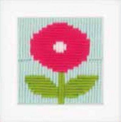 click here to view larger image of Flower (needlepoint)