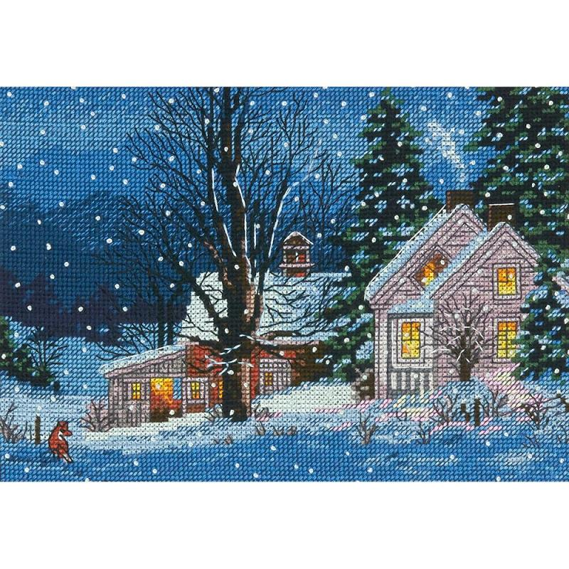 click here to view larger image of Quiet Night (counted cross stitch kit)