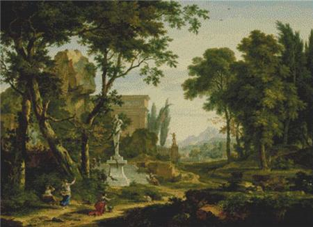 click here to view larger image of Arcadian Landscape (chart)