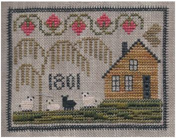 click here to view larger image of 1801 House (Limited Edition - Pre-order) (counted cross stitch kit)