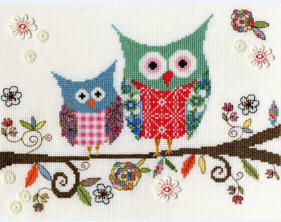 click here to view larger image of Love Woo (counted cross stitch kit)