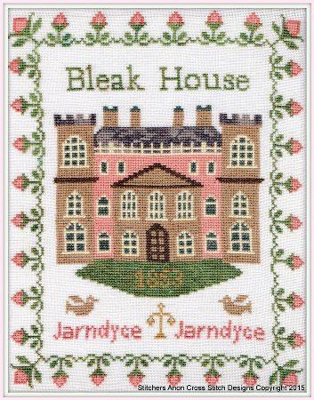 click here to view larger image of Bleak House Inspired by Charles Dickens (chart)