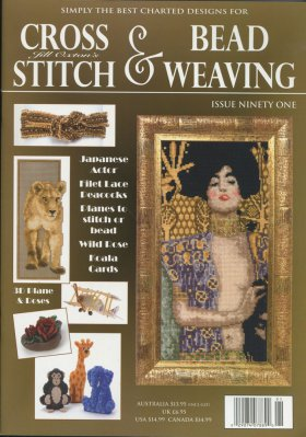 click here to view larger image of Cross Stitch & Bead Weaving Issue #91 (magazines)