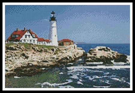 click here to view larger image of Mini Portland Head Lighthouse (chart)