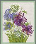 click here to view larger image of Allium (counted cross stitch kit)