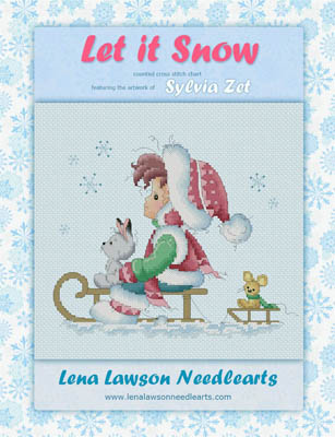 click here to view larger image of Let It Snow - Sylvia Zet (chart)