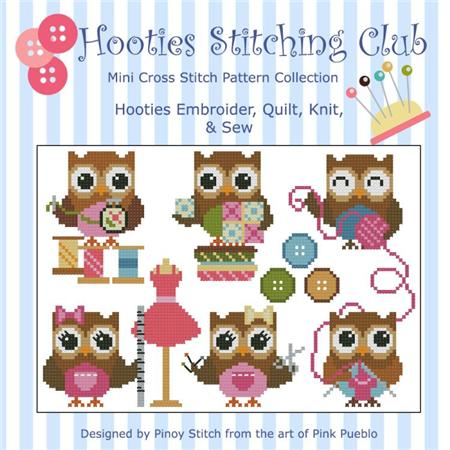 click here to view larger image of Hooties Stitching Club (chart)