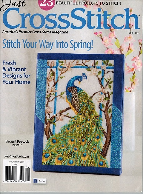 click here to view larger image of Just Cross Stitch - April 2015 (magazines)