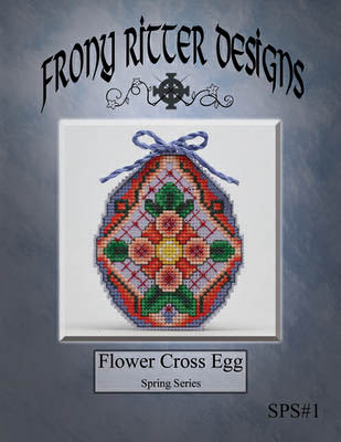 click here to view larger image of Flower Cross Egg (chart)