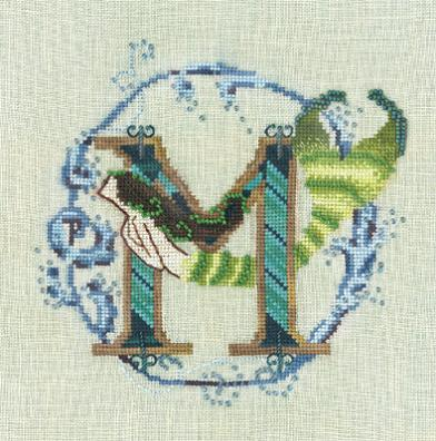Letters From Mermaids - M - click here for more details about chart