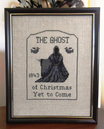click here to view larger image of Ghost of Christmas Yet to Come, The (chart)