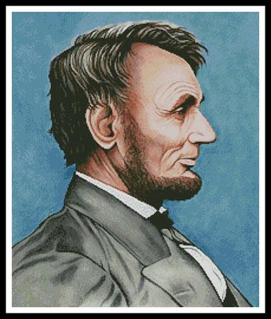 click here to view larger image of Abraham Lincoln  (Mike Bennett) (chart)