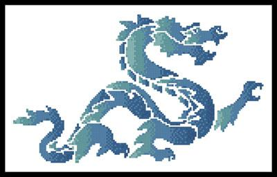 click here to view larger image of Blue Green Dragon (chart)