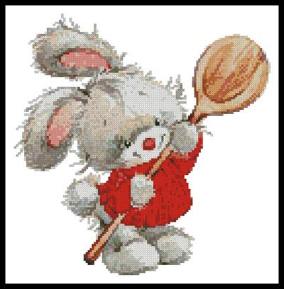 click here to view larger image of Bunny With Spoon (chart)