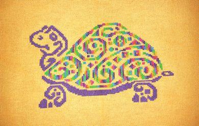 click here to view larger image of Tribal Turtle 2 (chart)