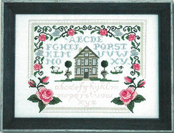 click here to view larger image of Roses and Bunnies Sampler (chart)