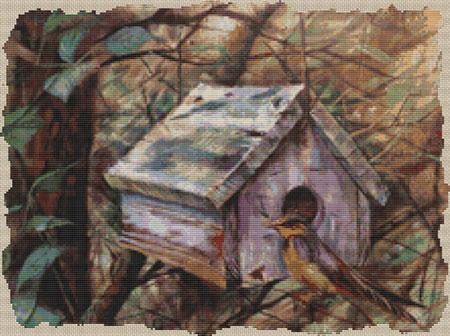 click here to view larger image of Birdhouse in the Woods (chart)