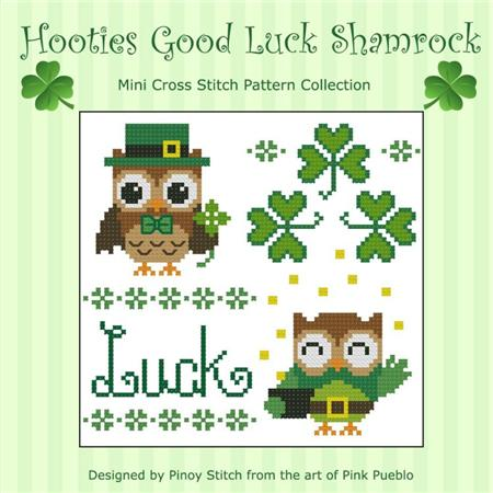 click here to view larger image of Hooties Good Luck Shamrock (chart)
