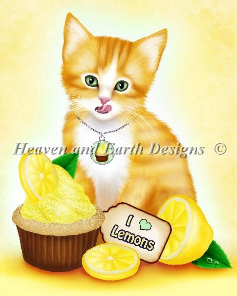 click here to view larger image of Lemon Cupcake Kitten (chart)