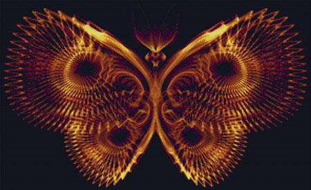 click here to view larger image of Bronze Butterfly Fractal (chart)