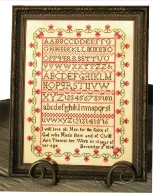 click here to view larger image of Ann Thomas Sampler (chart)
