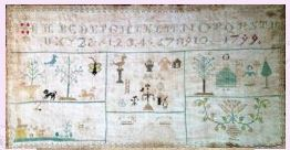 click here to view larger image of 1799 Mother's Sampler (chart)