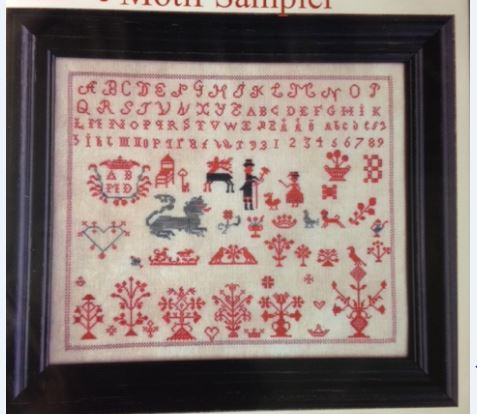 click here to view larger image of B An Unidentified Spot Motif Sampler (chart)