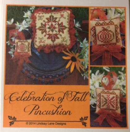 click here to view larger image of Celebration of Fall Pincushion (chart)