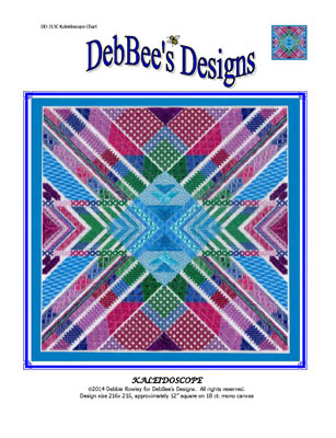 click here to view larger image of Kaleidoscope (counted canvas chart)