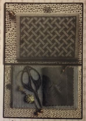 click here to view larger image of Basket Weave Needle Keep Kit (Limited) (counted cross stitch kit)