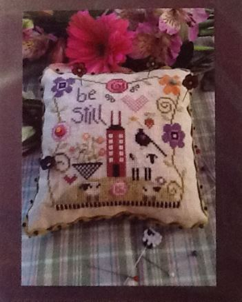 click here to view larger image of Be Still Pincushion (counted cross stitch kit)
