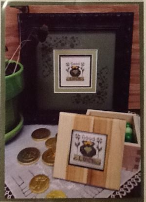 click here to view larger image of Good Luck Box (counted cross stitch kit)