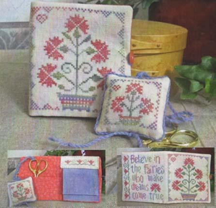 click here to view larger image of Fairy Garden Needle Book (chart)