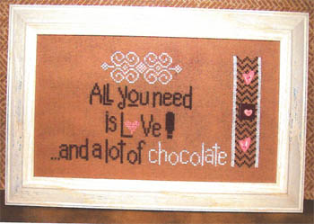 click here to view larger image of Lot of Chocolate, A (w/embellishments) (chart with charms/buttons)