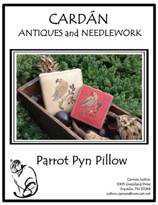 click here to view larger image of Parrot Pyn Pillow (chart)