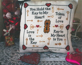 click here to view larger image of Keys of Love (chart)