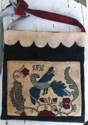 click here to view larger image of Fraktur Bird Sewing Bag (chart)