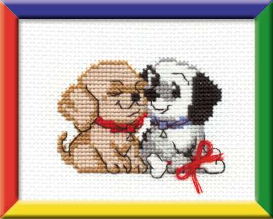 click here to view larger image of Congratulations! - Happy Bee (counted cross stitch kit)