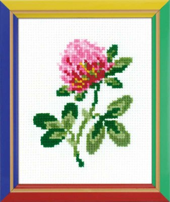 click here to view larger image of Clover - Happy Bee (counted cross stitch kit)
