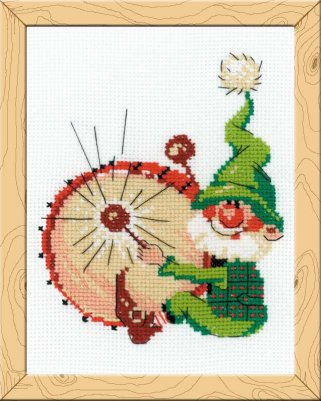 click here to view larger image of Boom! Boom! - Happy Bee (counted cross stitch kit)