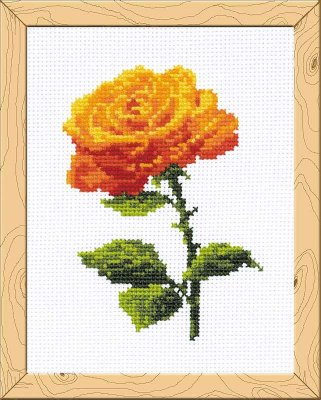 click here to view larger image of Annabel - Happy Bee (counted cross stitch kit)