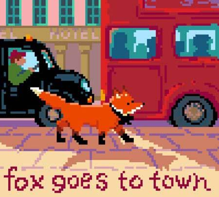 click here to view larger image of Fox Goes To Town (chart)