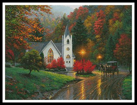 click here to view larger image of Autumn Chapel  (Mark Keathley) (chart)