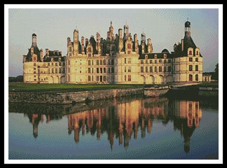 click here to view larger image of Chateau de Chambord (chart)